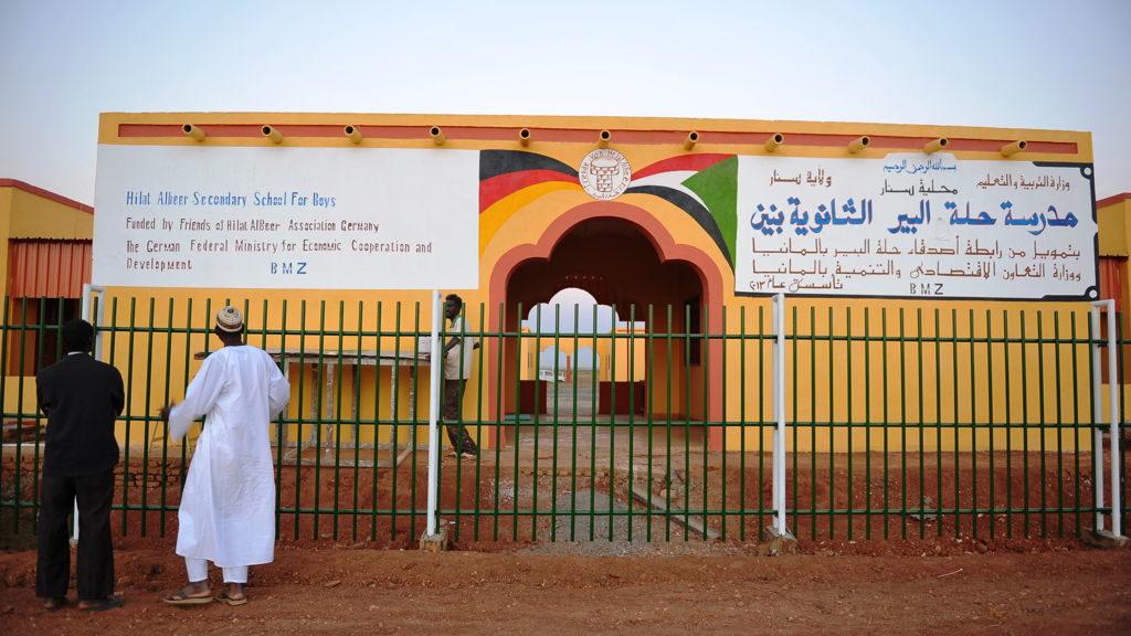 Die 2015 eröffnete Sekundarschule in Hilat Al Bir